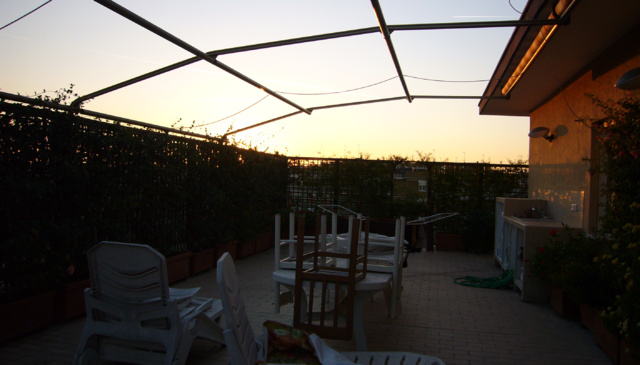 In Rome, attic with terrace-2 bedrooms-2 bathrooms; Semi-central area