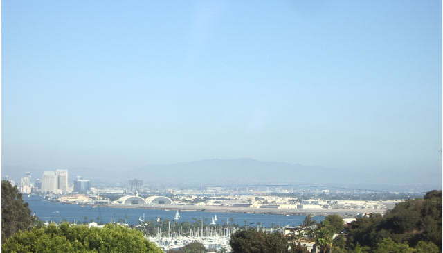 Home with view of San Diego Bay