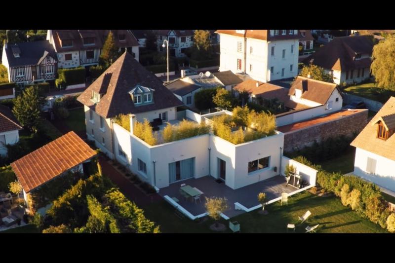 Maison confortable et moderne avec jardin deauville lower normandy love home swap - Jardin maison moderne ...