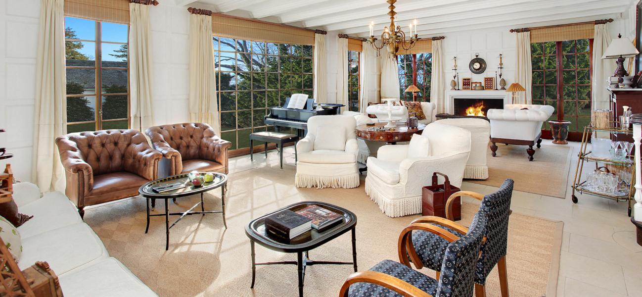 luxury interior of home swap